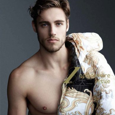 LAB A4 Magazine / Cover w. Jordan Stenmark by Chad Leon