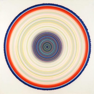 Works of / Concentric circles by Tadasky