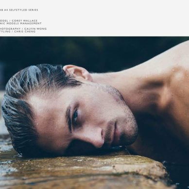 The Model List / Corey Wallace by Calvin Wang