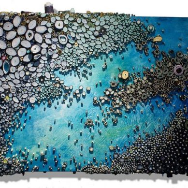 Works of / Paper Landscapes by Amy Eisenfeld Genser