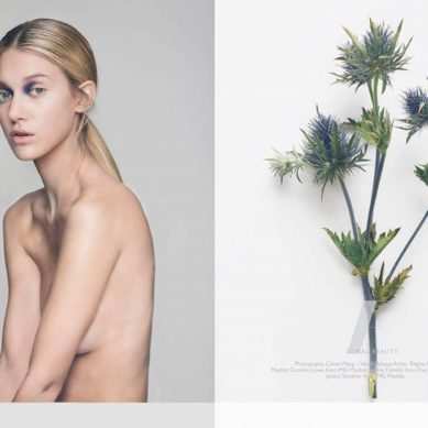 LAB A4 / Floral beauty by Calvin Wang