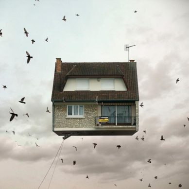 Works of / Flying Houses by Laurent Chehere