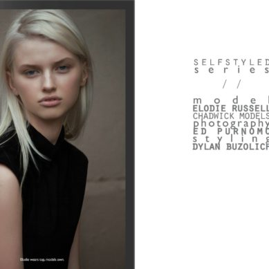 The Model List / Elodie Russell by Ed Purnomo