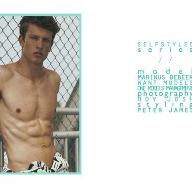 The Model List / Marinus Debeer by Boy Josh