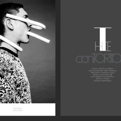 LAB A4 Magazine / The Contortionist by Marcello Arena
