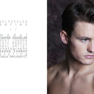 The Model List / Caspar Oechsler by Sasha Ivanov