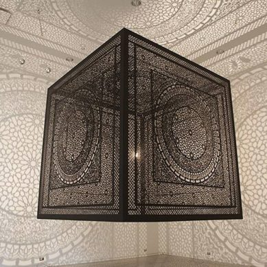 Works of / 'Intersections' by Anila Quayyum Agha