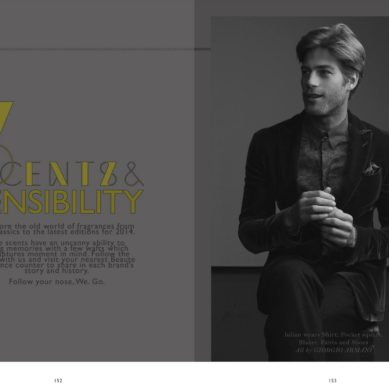 LAB A4 Magazine / Scents & Sensibility Fragrance story by Chad.Leon