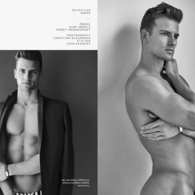 The Model List / Alex Sewell by Christian Alexander