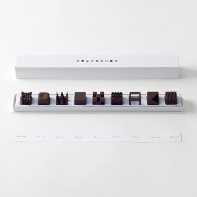 Works of / Maison et Objet's / Nendo chocolatetexture