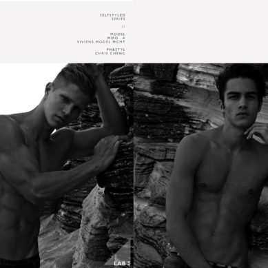 The Model List / Aleksander Rusic & Miro A by Chris Cheng
