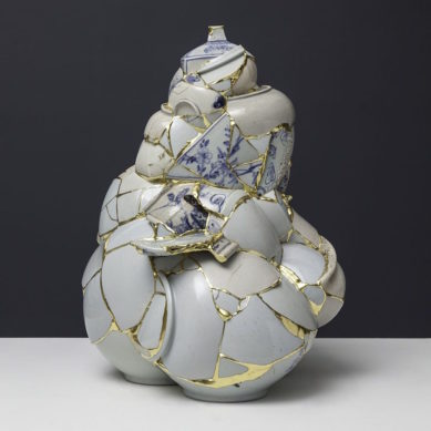 Works of / Translated Vase by Yeesook Yung