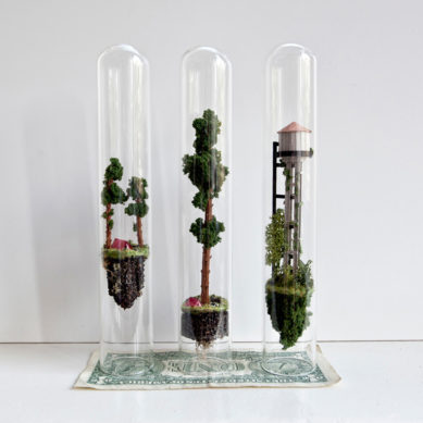Works of / Minature Dwellings by Rosa de Jong