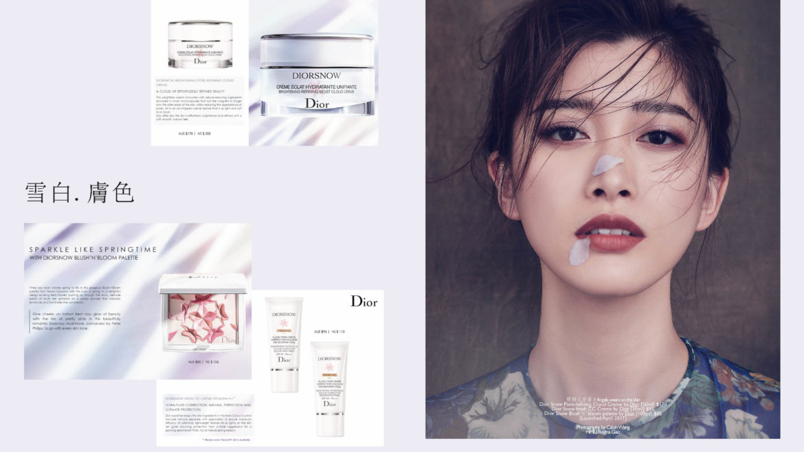 The LD on Beauty / Lets talk about it: Dior Snow Collection launch