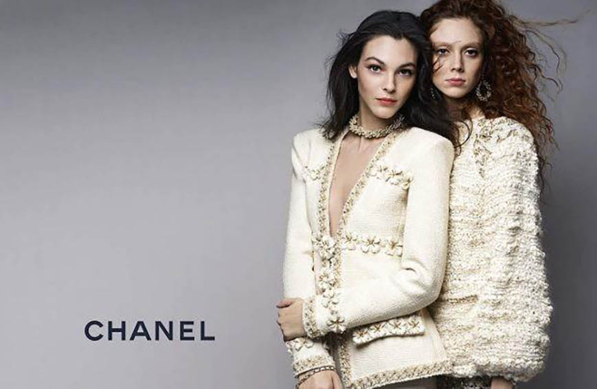 Chanel Pre Fall 2017 / Campaign by Karl Lagerfeld
