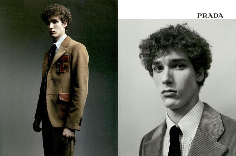 Prada Uomo Fall Winter 2017 / Campaign by Willy Vanderperre