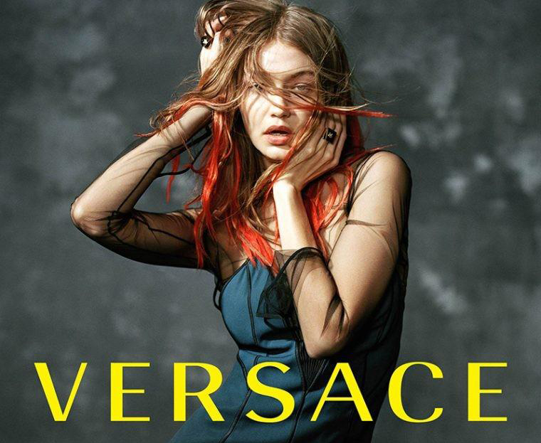Versace Fall Winter 2017 / Campaign by Bruce Weber