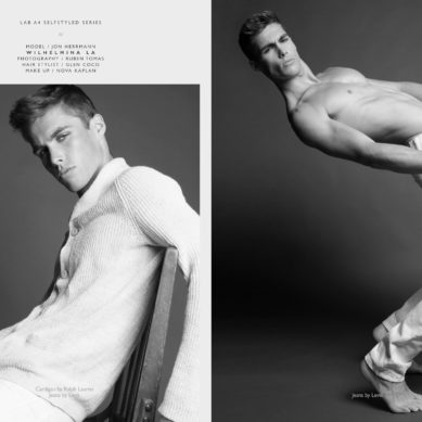 The model List / Jon Herrmann by Ruben Tomas