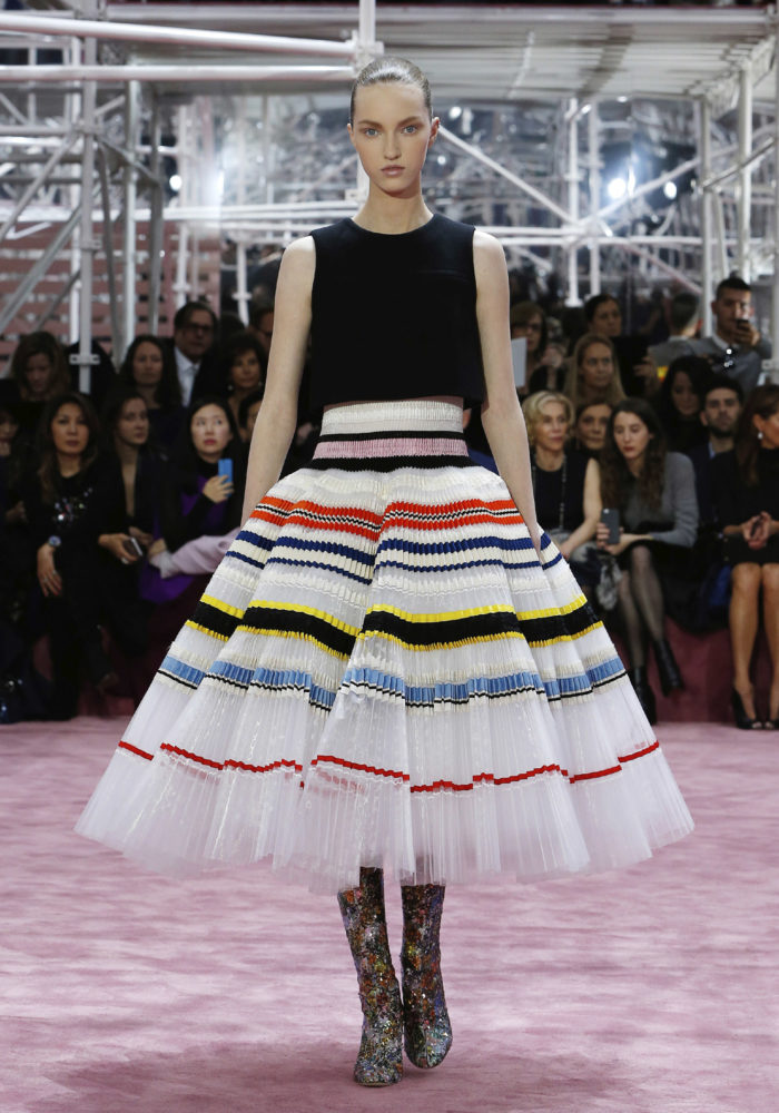 Christian Dior, Paris (fashion house); Raf Simons (designer) Look 54, dress, 2015, spring−summer 2015. spring−summer 2015 haute couture collection © Dior